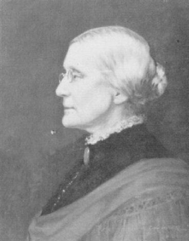 portrait of susan b anthony by carl guthers gutherz