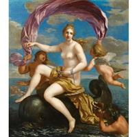le triomphe de galathée by charles alphonse dufresnoy
