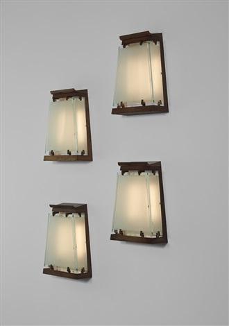 Set Of Four Wall Lights By Fontana Arte On Artnet