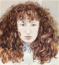self portrait by cressida campbell