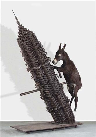 donkey by zhang huan