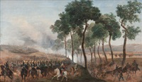 camp de compiègne lors de la présentation d'hélène de mecklembourg schewerin à l'armée à l'occasion du mariage du duc d'orléans by prosper baccuet