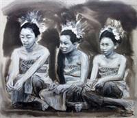 tiga gadis bali by dedy reru