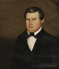 portrait of a ludlow, vermont, gentleman by horace bundy