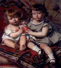 les enfants au polichinelle by edouard agneessens