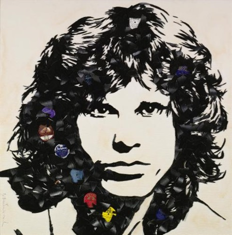 jim morrison by mr brainwash