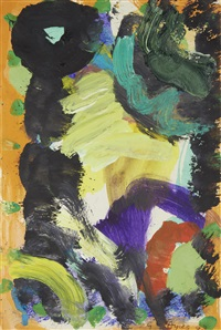 abstract by gillian ayres