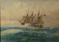 navire by george friedrich (godefroy) gottler