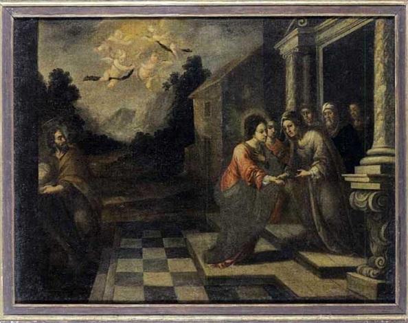 la visitation by matías arteaga y alfaro