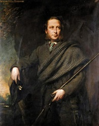 portrait of william, 15th lord elphinstone by colvin smith