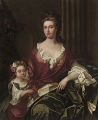 portrait of a lady by charles d' agar