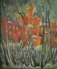 l'hiver by melnitchenko