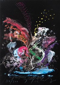 fontaine jo siffert (from eight by eight to celebrate the temporary contemporary portfolio) by jean tinguely