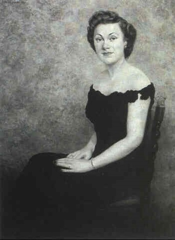 portrait of mrs george wc mccarter by michel jacobs