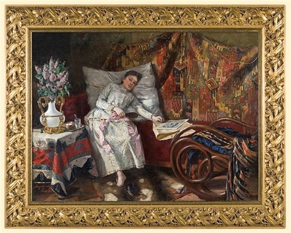 resting by aleksander augustynowicz