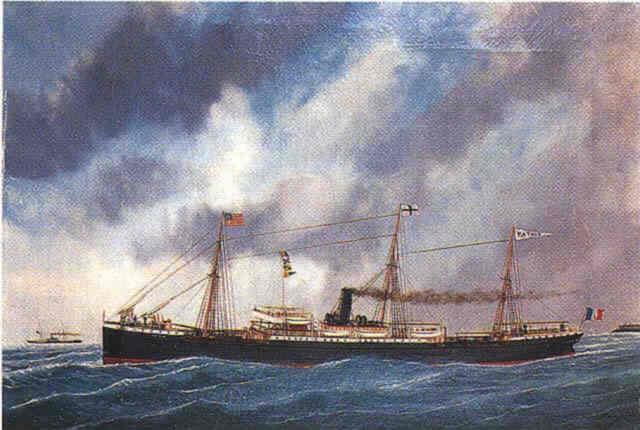 patria bateau à vapeur by edouard the younger adam
