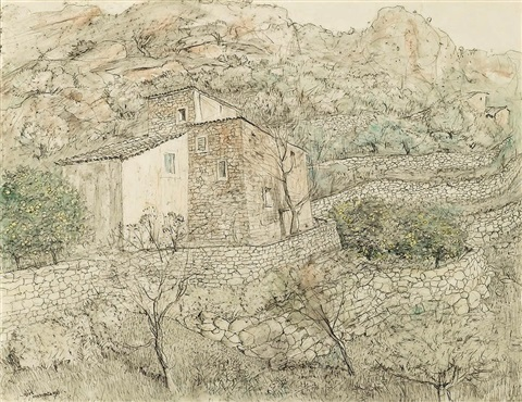 the farmhouse majorca by lloyd frederic rees