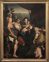 madonna con bambino con san gerolamo e maria maddalena by correggio