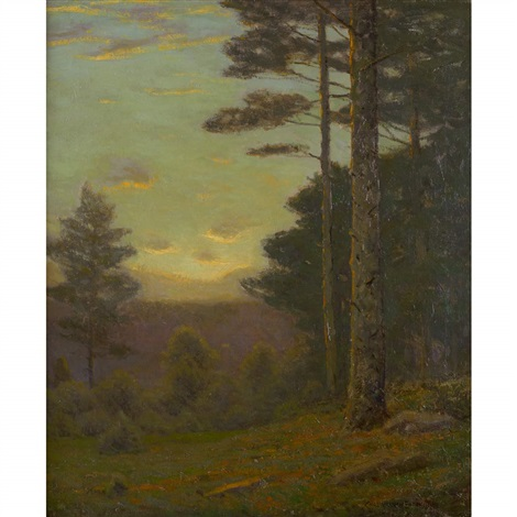 among the pines by charles warren eaton