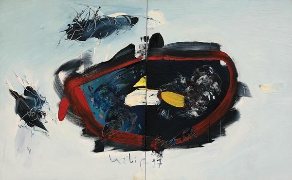 figurative abstraction by habib aydogdu