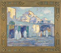 bab souika tunis by frank townsend hutchens