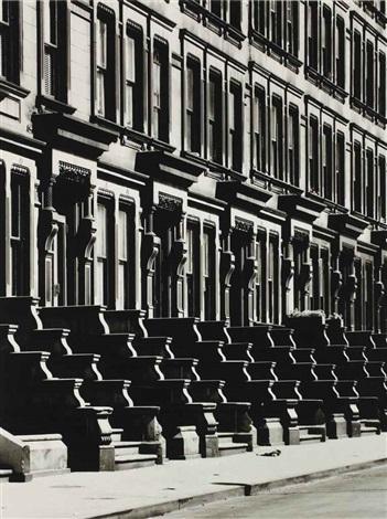 westside brownstones new york by evelyn hofer