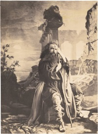 eugène massol dans le rôle du juif errant by olympe (count) aguado