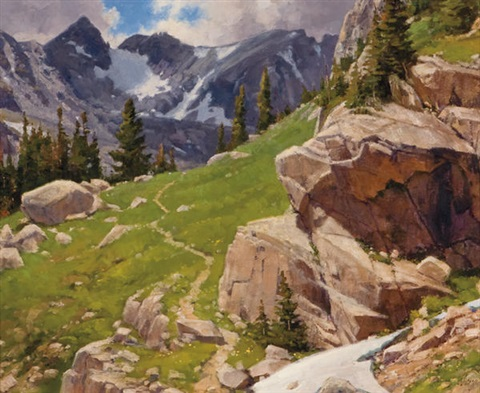 in the rockies by ralph oberg