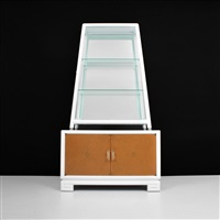 fine pyramid display cabinet by grosfeld house