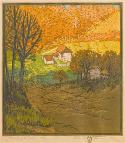the way of the years by gustave baumann