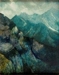 obraz 632 pejzaż z lodowym - 2 by jerzy duda-gracz