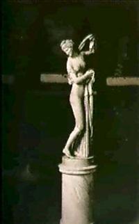 venus callypige sur socle pivotant by guiseppe alinari