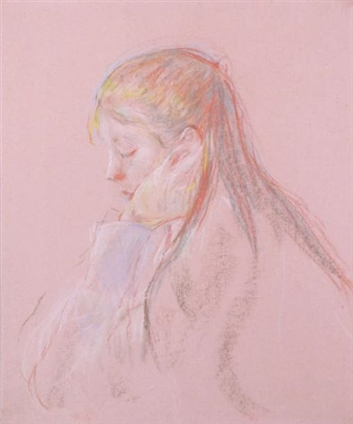 jeannie aux longs cheveux by berthe morisot