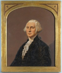 portrait of george washington by john wood dodge