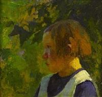jeune fille by marcel couchaux