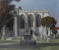 dedham churchyard by john arthur malcolm aldridge
