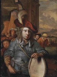 the drummer boy by eglon hendrik van der neer