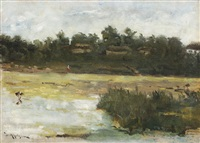 landscape from the delta by dimitrie mihailescu