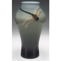 dragonfly vase by carl schmidt