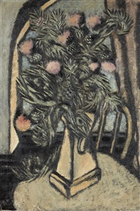thistles by marsden hartley
