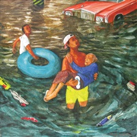 perahu karet iii by gusti agung mangu putra