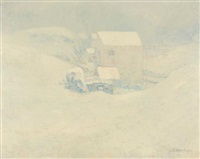 snow by john henry twachtman