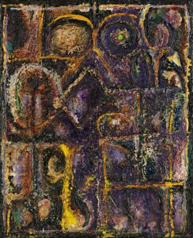 amethyst window by richard pousette dart