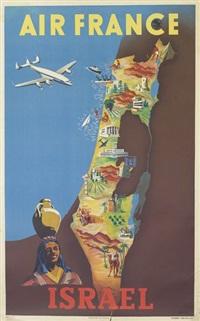 air france/israel by renluc