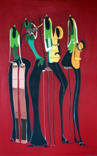 jazz green by kofi agosor