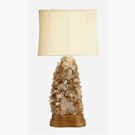 Rock crystal table lamp 1950s by carole stuppell on artnet rock crystal table lamp 1950s by carole stuppell mozeypictures Gallery