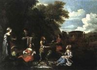 le déjeuner sur l'herbe by angeluccio