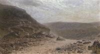 orientalische landschaft by cesare biseo