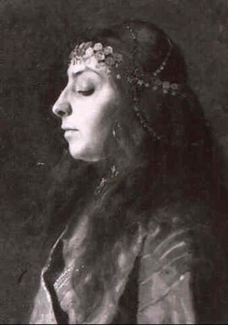 zigeunerin by wilhelm dachauer