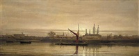the thames at battersea by james william garrett smith